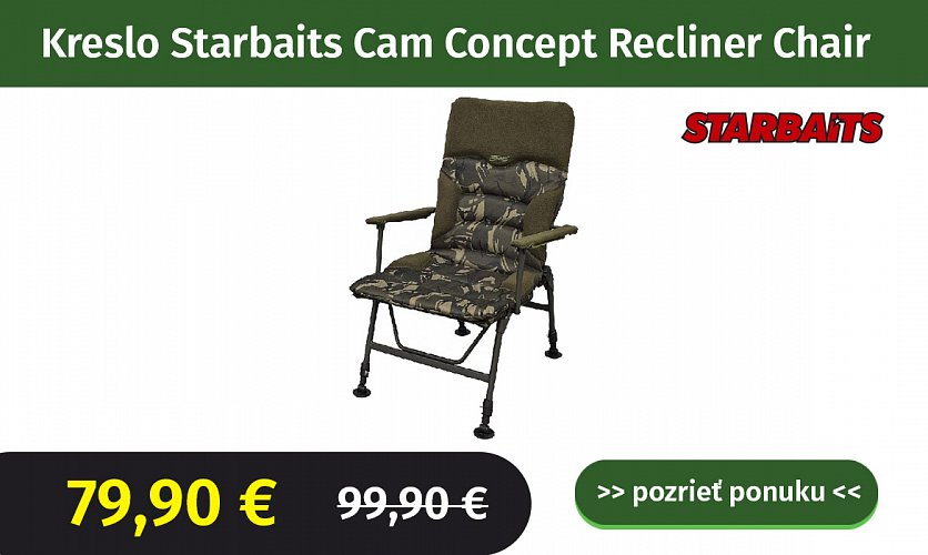 Kreslo Starbaits Cam Concept Recliner Chair