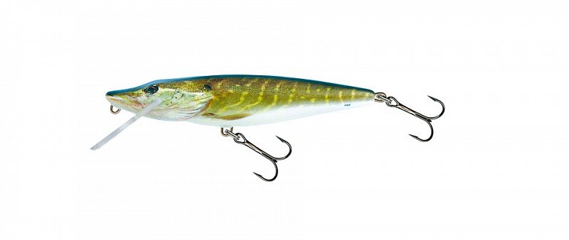 Wobler Pike Floating PE11F 11cm Real Pike