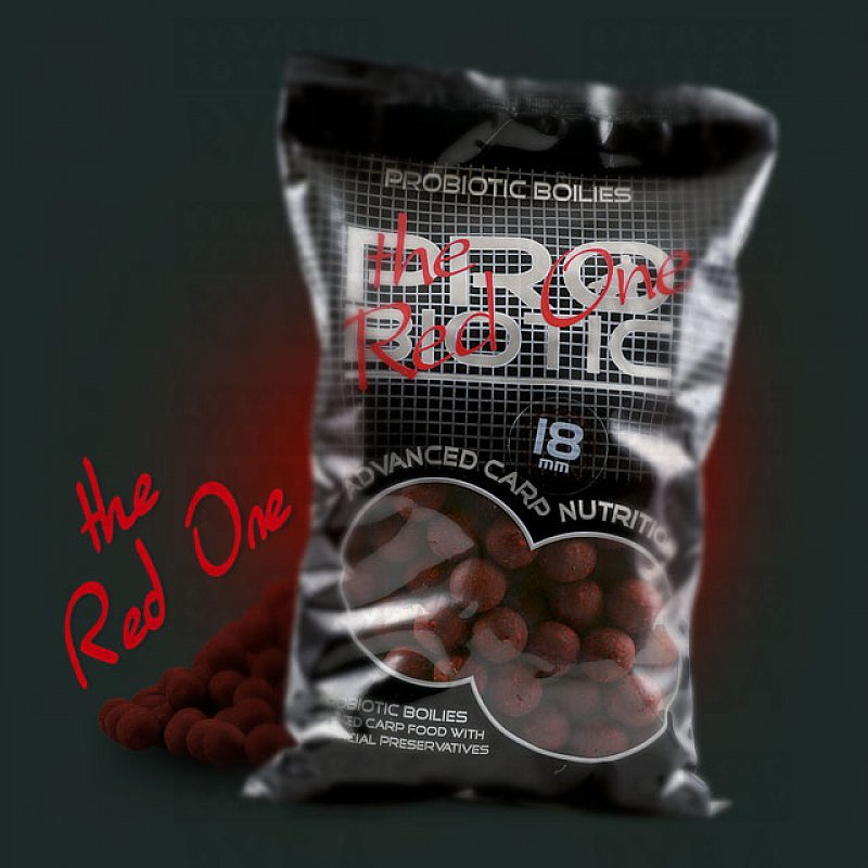 Starbaits Boilies Probiotic The Red One