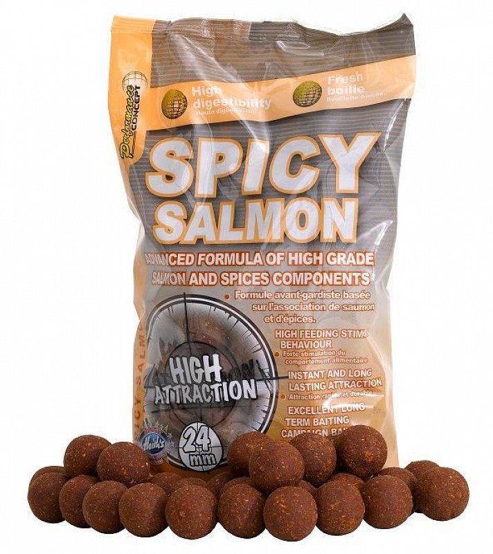 Starbaits Boilies Spicy Salmon
