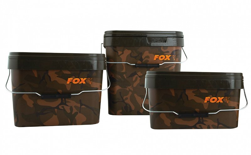 Fox Vedrá Camo Square Buckets