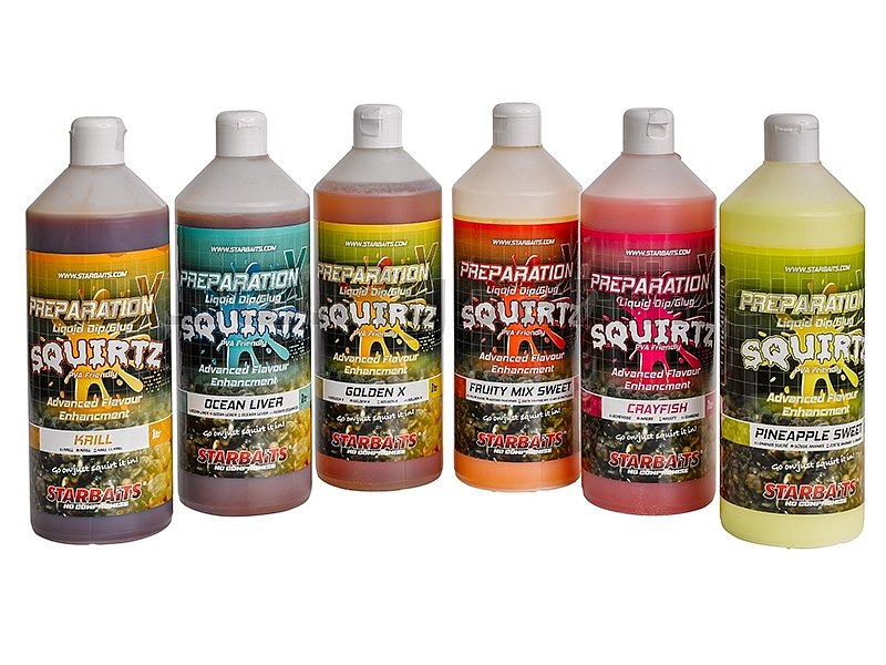 Starbaits Liquid Preparation X Squirtz