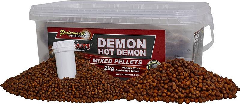 Starbaits Pelety Hot Demon