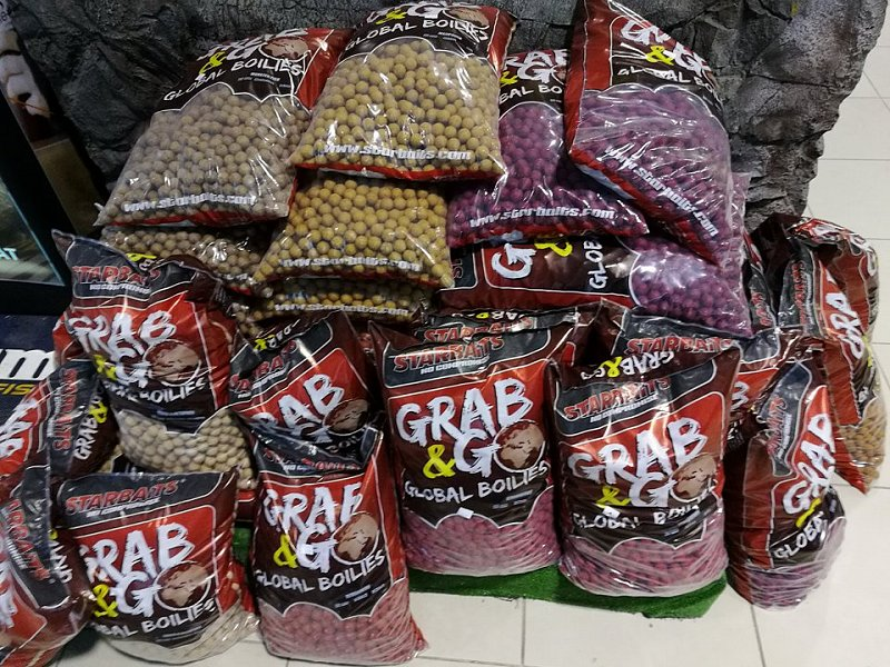 Starbaits Boilies Grab and Go Global 10kg