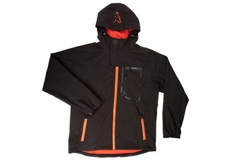 Bunda Softshell Jacket Black/Orange