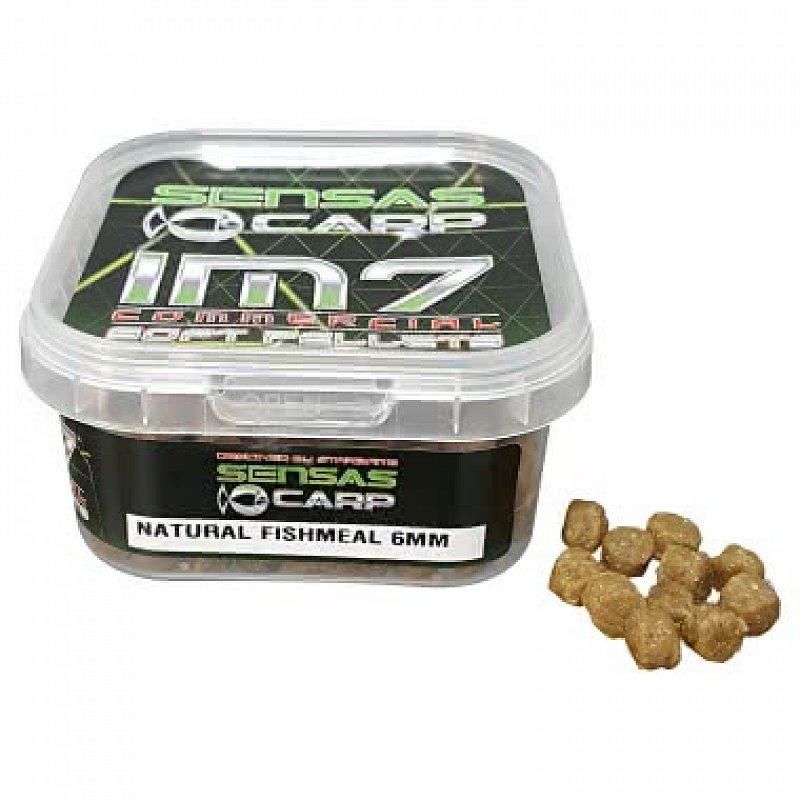 SENSAS Pelety Im7 Soft Pellets 60 g 6 mm