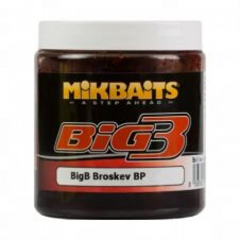 Boilies v dipe Big B Broskyňa/Black Pepper