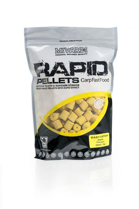 Mivardi Rapid Pelety Easy Catch Ananás 1kg