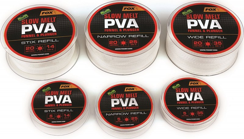 Fox PVA Pančucha Edges Refill Slow Melt