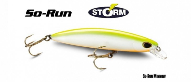 Storm Wobler So-Run Minnow 95mm