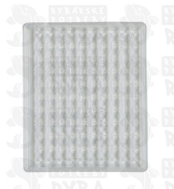 Boilie stoppers (clear) 100pcs rack