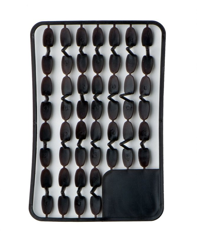 Pellet holders big (brown) 67pcs rack