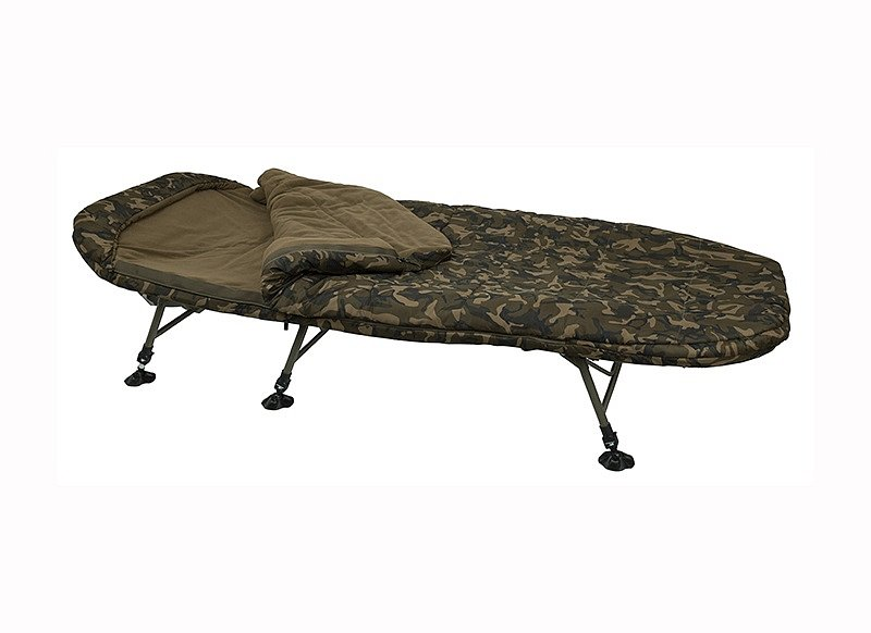 Lehátko so spacákom R-Series Camo Sleep System