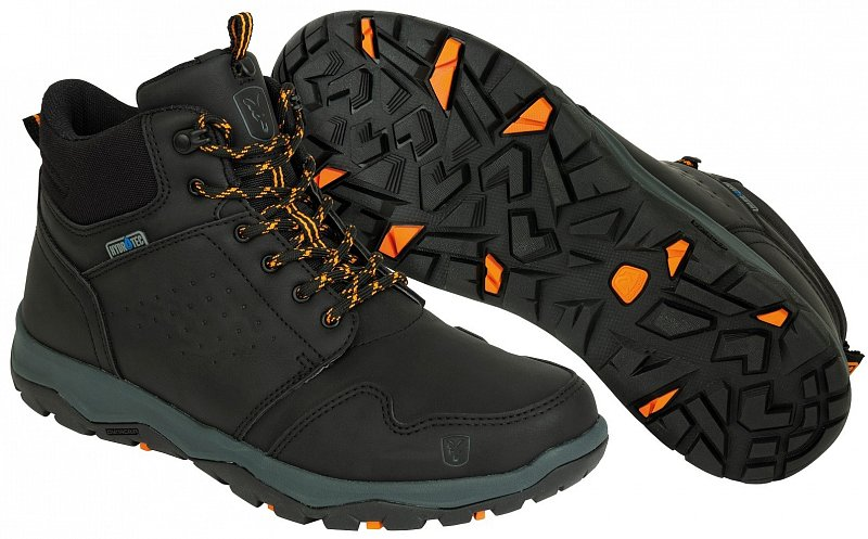 Topánky Coll Black Orange Mid Boot