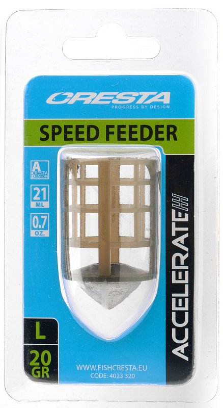 CRESTA Krmítko Accelerate Speed Feeder Large