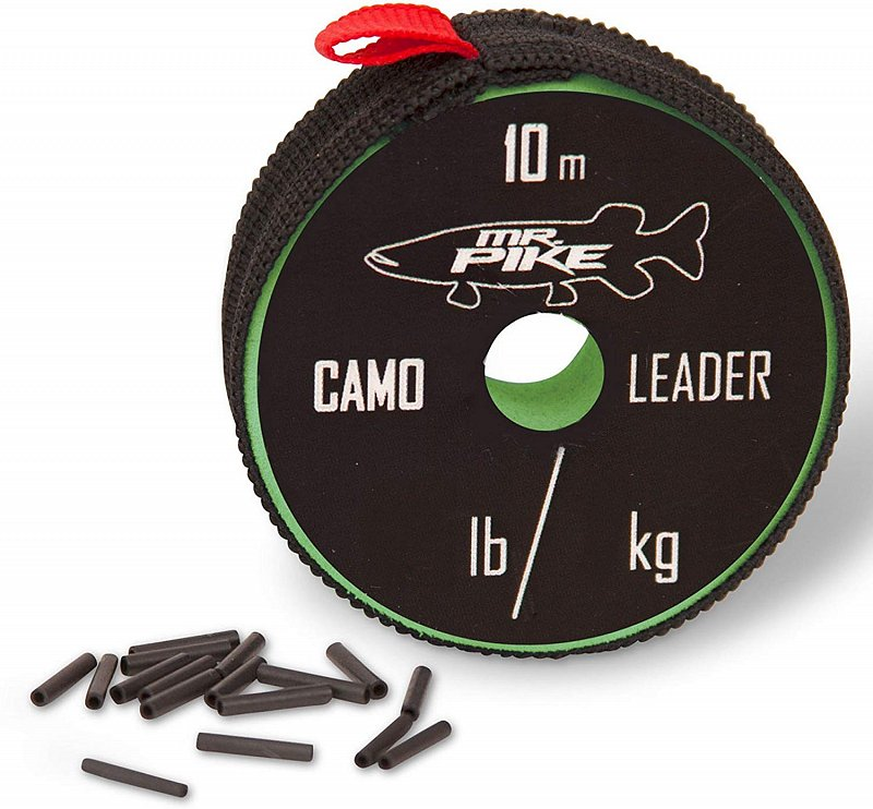 Ocelové lanko Mr. Pike Coated Leader 10m
