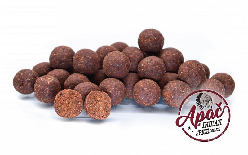 Boilies chytacie Apač Indian Spice 250g