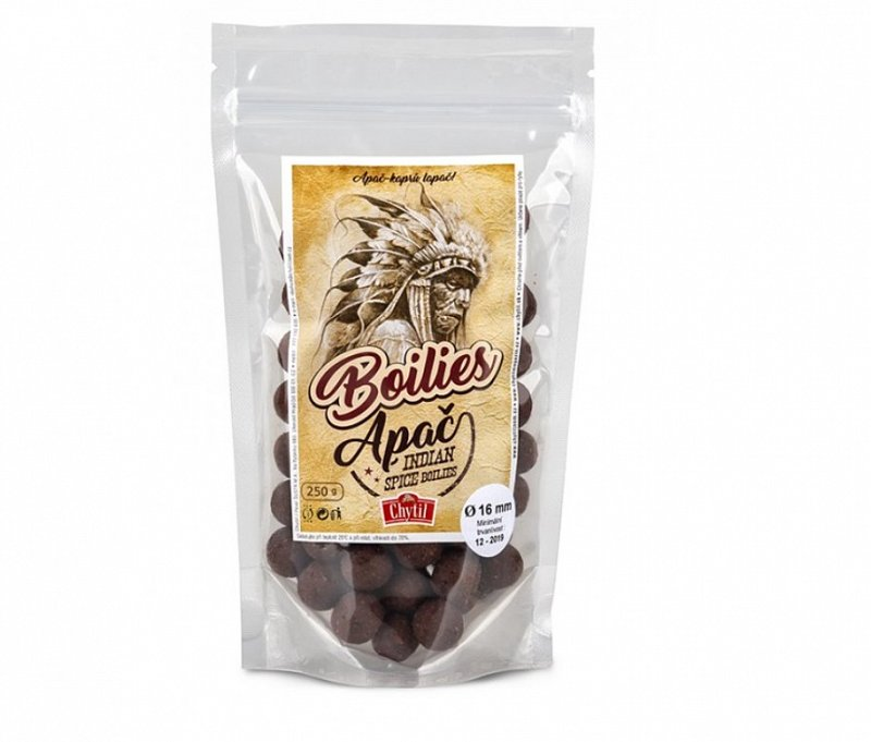 Boilies chytacie Apač Indian Spice 250g-19181