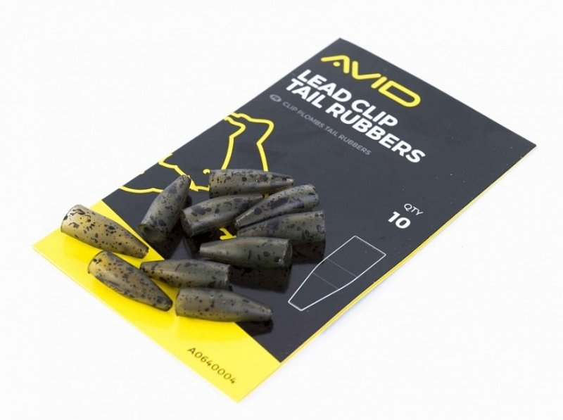 Avid Carp Prevlek Outline Lead Clip Tail Rubbers