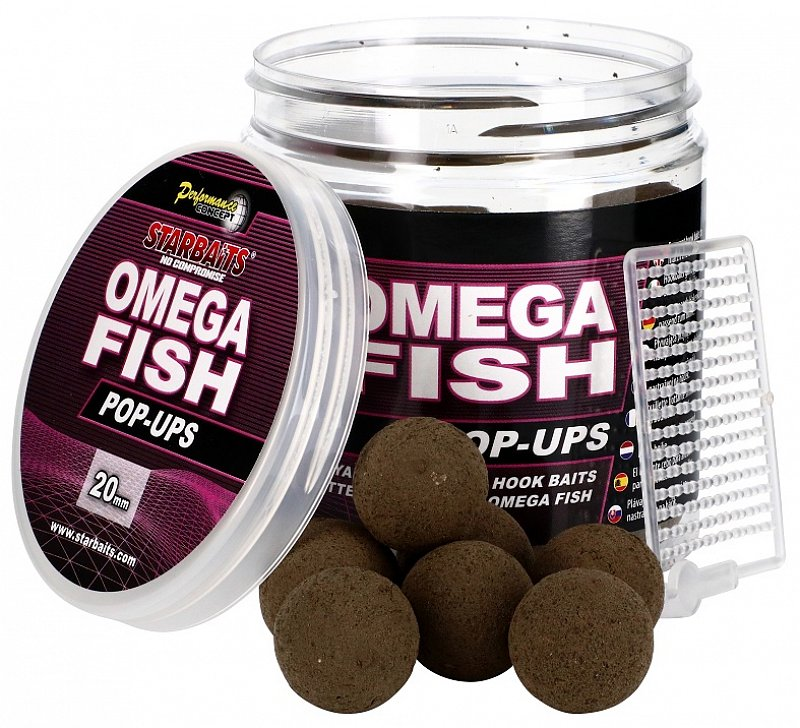 Starbaits Pop Up Omega Fish