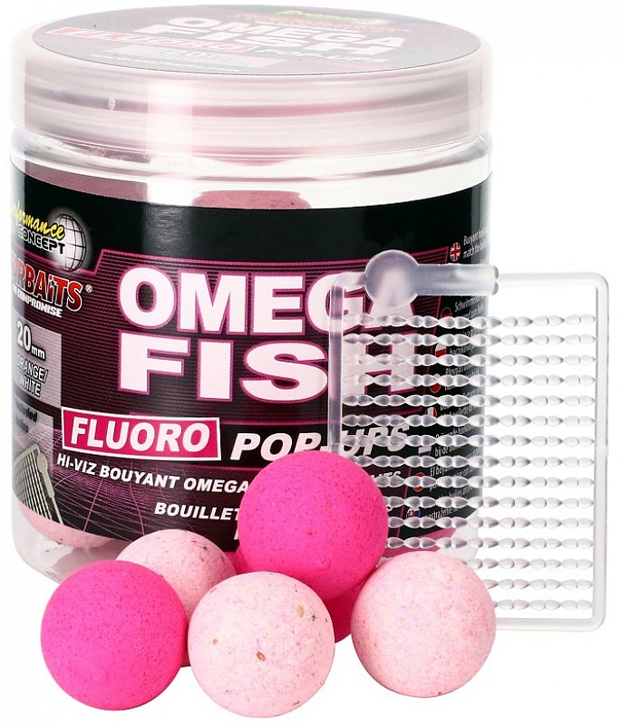 Starbaits Pop Up Omega Fish Fluo