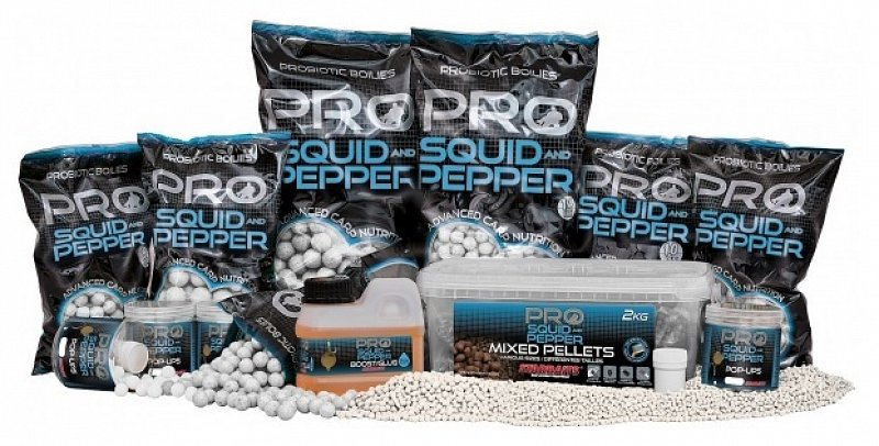 Starbaits Boilies Pro Squid Pepper