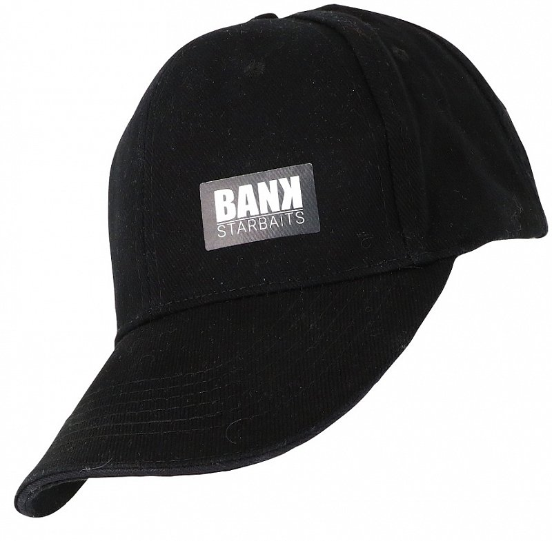 Starbaits Šiltovka Bank 5 Panels Cap - Black