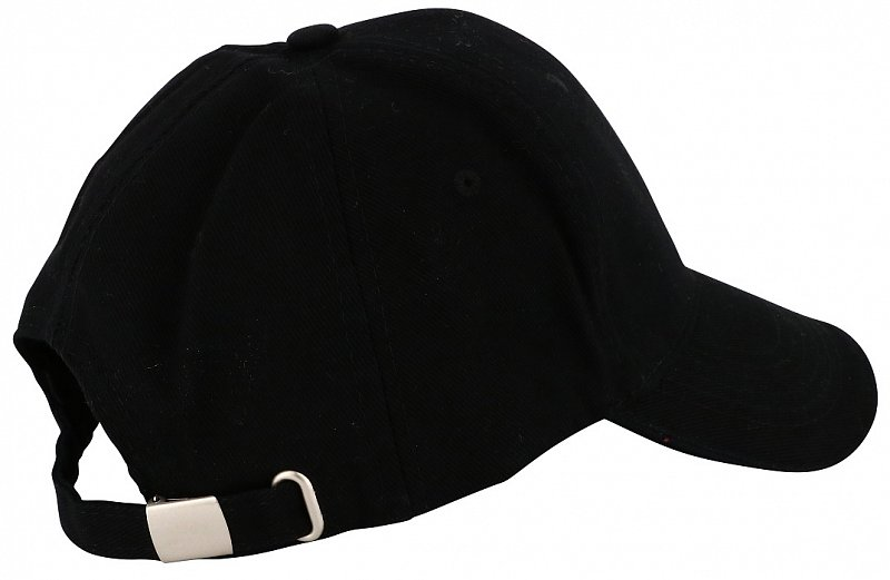 Šiltovka Bank 5 Panels Cap - Black-19866