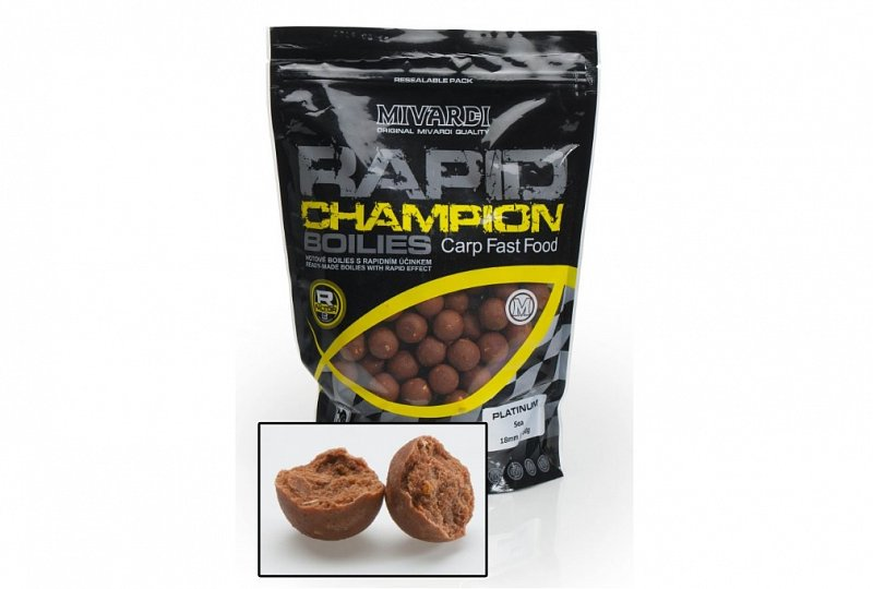 Rapid Boilies Ch.Platinum Sea 950g/20mm