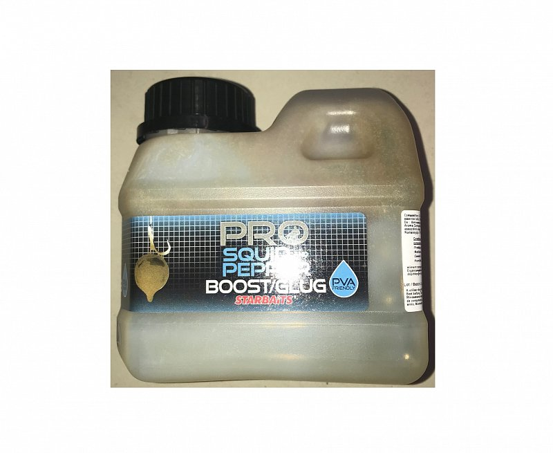 Starbaits Booster Pro Squid Pepper 500ml