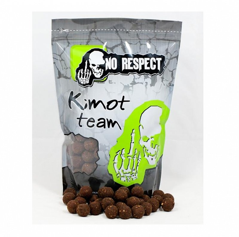 Kimot No Respect Boilies Sweet Gold Tigrí orech 1kg