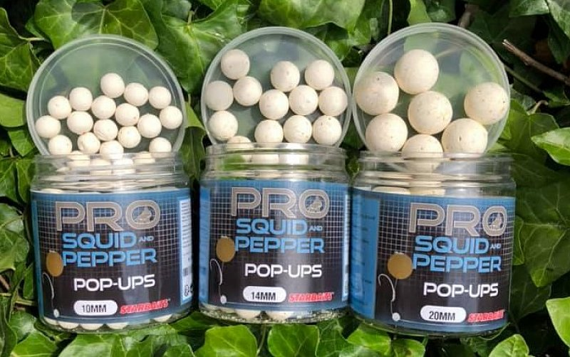 Starbaits Pop Up Pro Squid Pepper 60g