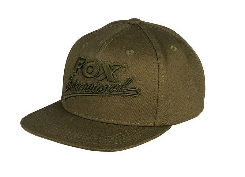 Fox Šiltovka Khaki College Snap Back