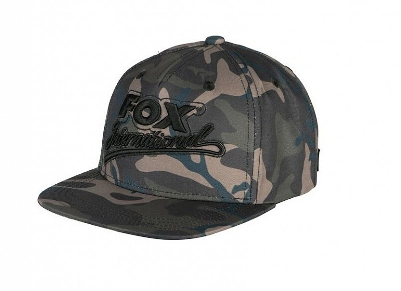 Fox Šiltovka Camo College Snap Back