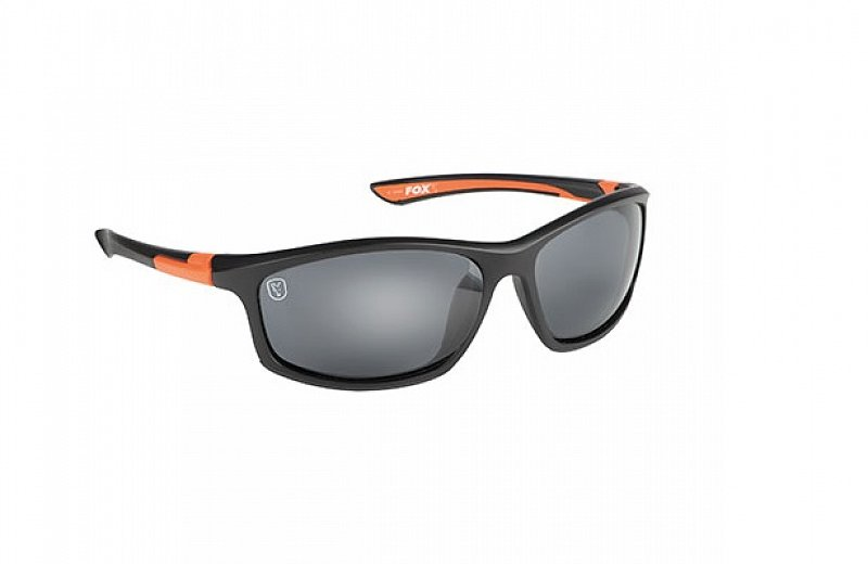 Fox Okuliare Black Orange Sunglasses