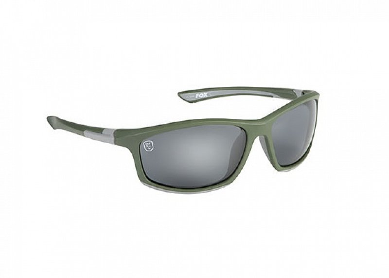 Fox Okuliare Green Silver Sunglasses