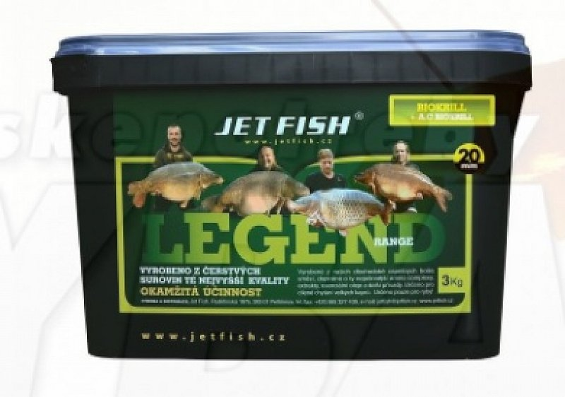 Jetfish Boilies Legend Range Biokrill 24mm 3kg