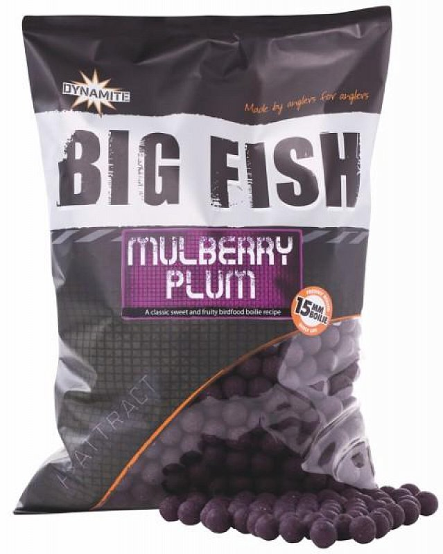 Boilies Big Fish Mulberry Plum 20mm 1,8kg