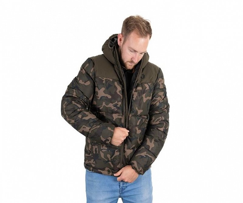 Fox Bunda Chunk Camo Khaki RS Jacket