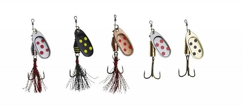 Ron Thompson Rotačka Set Spinner Box Pack Lures 7g 5ks