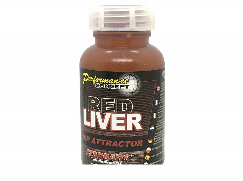 Starbaits Dip Probiotic Red Liver