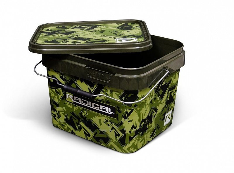 Radical Vedro Camou Bucket 10l