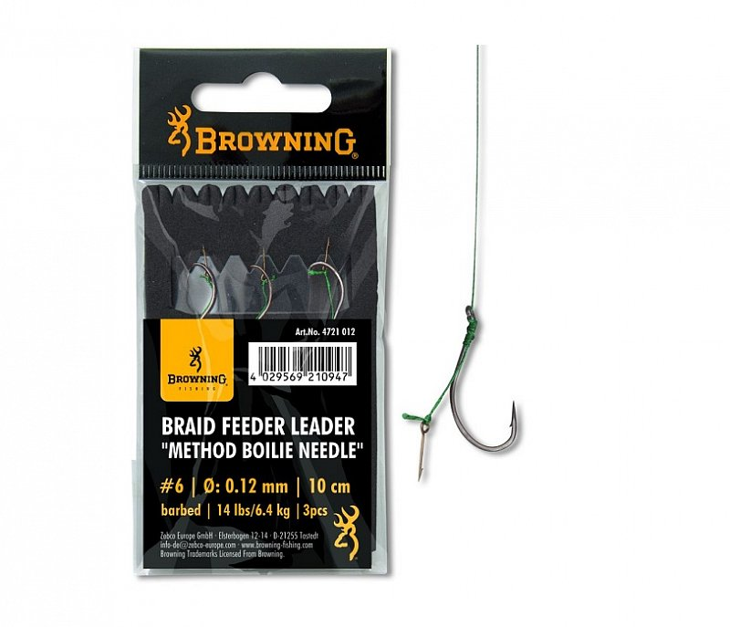 Browning Nadväzec Method Leader Boilies Needle 10cm
