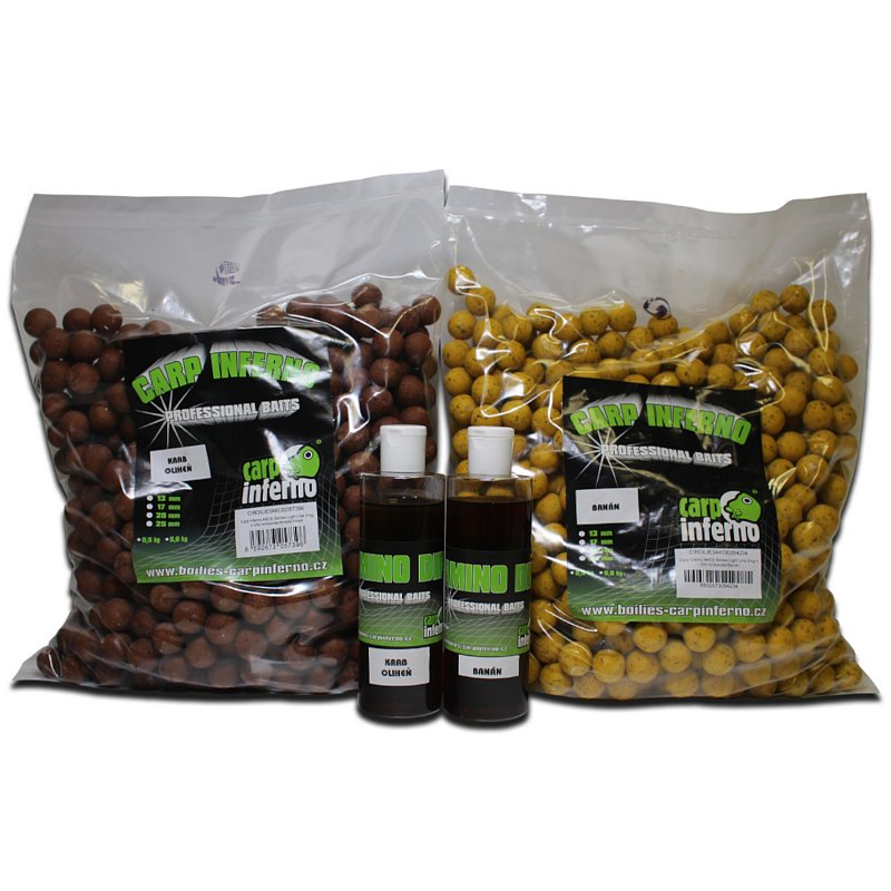 Carp Inferno Boilies Light Line 3kg + 250ml dip