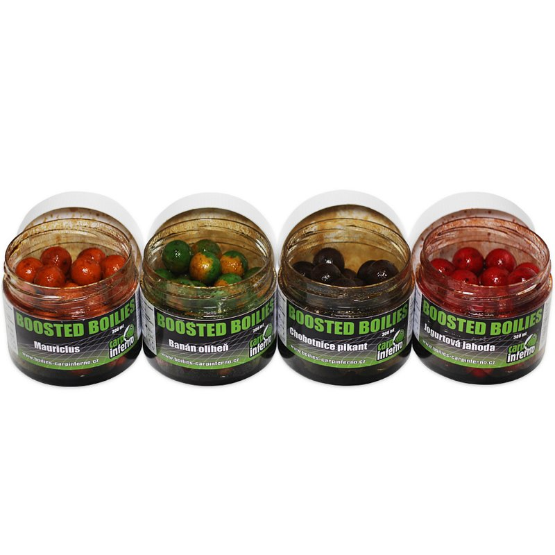Carp Inferno Boilies Boosted Nutra 20mm 300ml