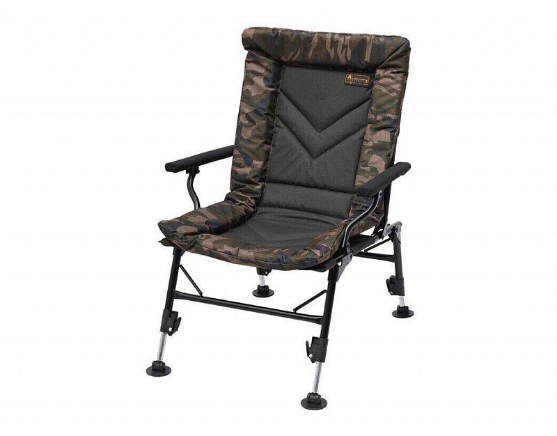Prologic Kreslo Avenger Comfort Camo Chair W/Armrests and Covers
