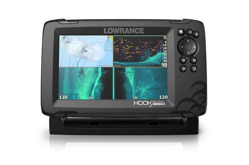 Lowrance Sonar Hook Reveal 7 Tripleshot ROW