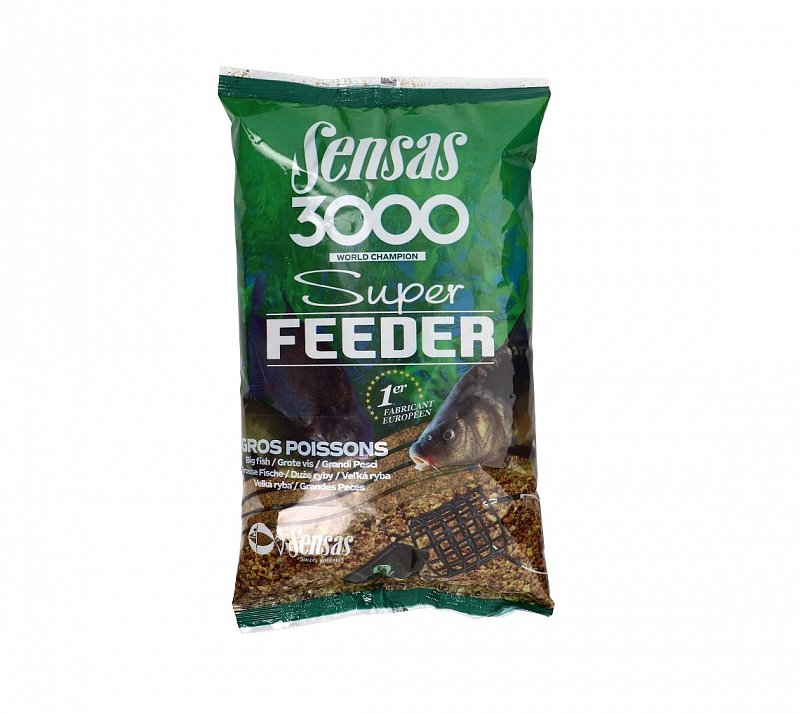 SENSAS Krmivo 3000 Super Feeder 1kg Big Fish