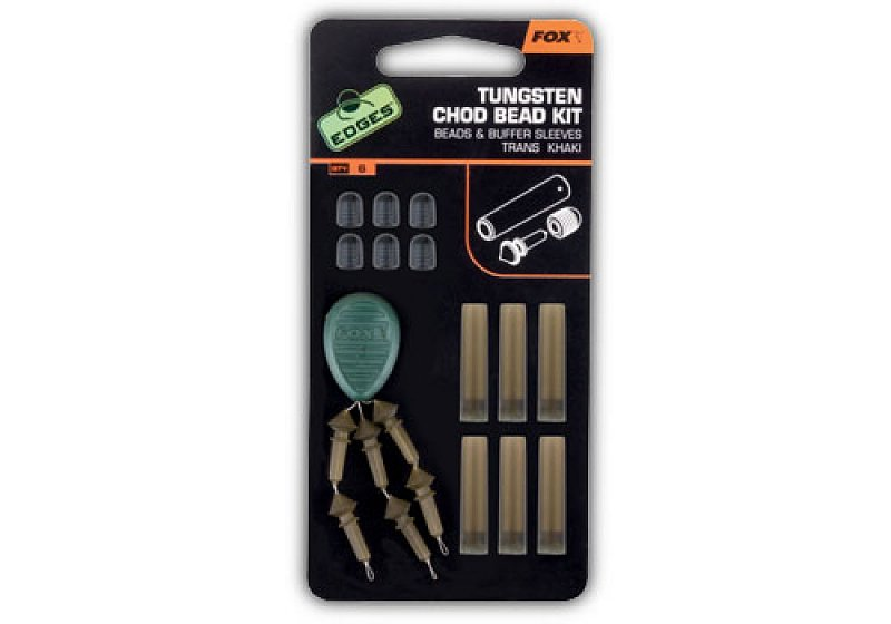 Fox Montáž EDGES Tungsten Chod Bead Kit - Chod Bead Kit