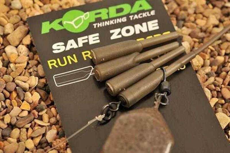Korda Klip Safe zone Run Rig Rubbers 10ks